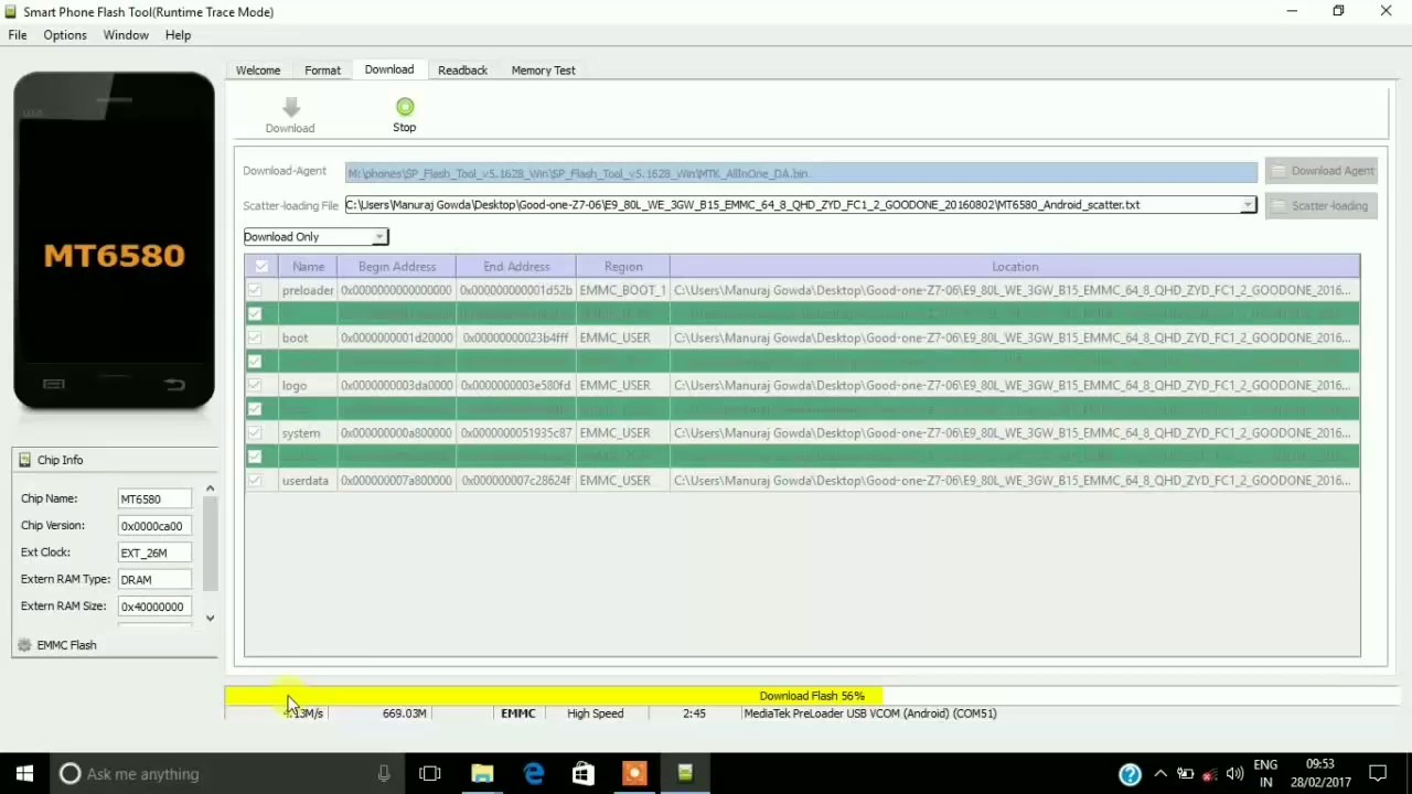 How to unbrick or flash stock rom on any mediatek device[easy method] SP  FLASH TOOL