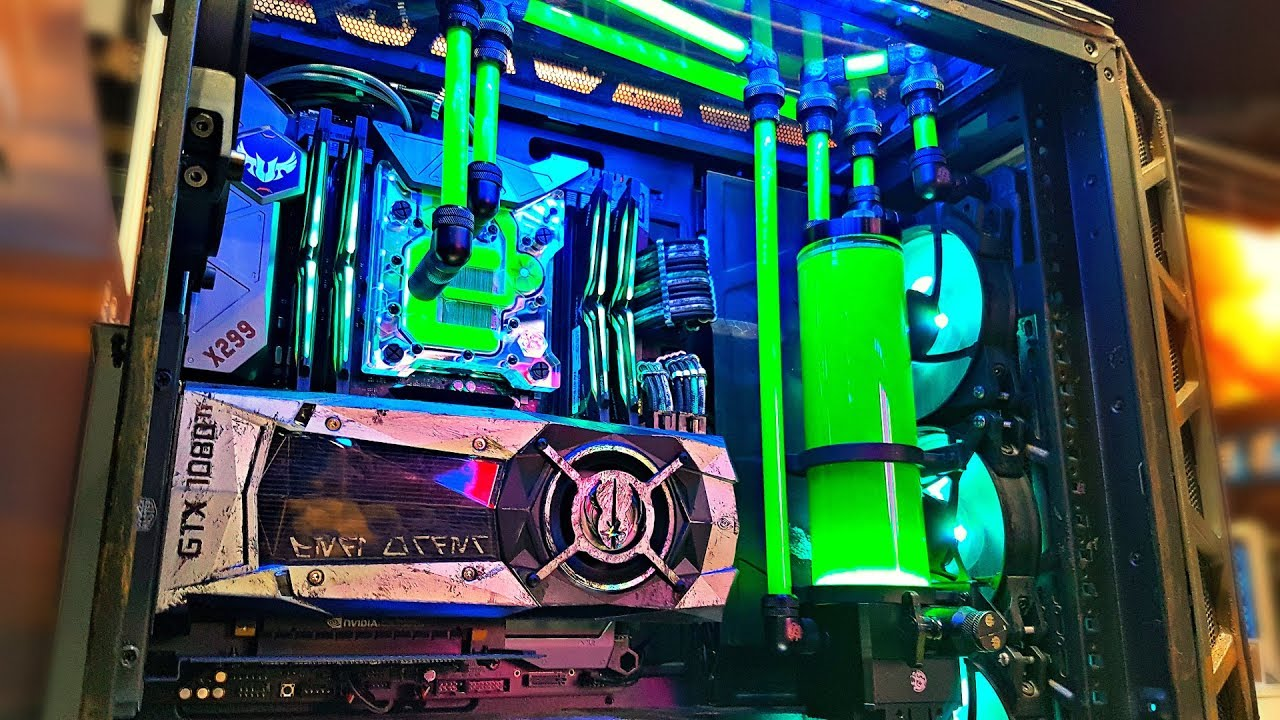 The ULTIMATE Custom Water Cooled PC Builds of Intel ... |Cool Gaming Computers