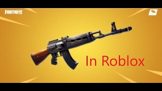 Fortnite Heavy Assault Rifle In Roblox Phantom Forces (Giveaway winner announced!!!)