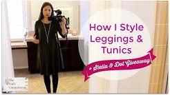 How I Style Leggings & Tunics | Jennifer L. Scott