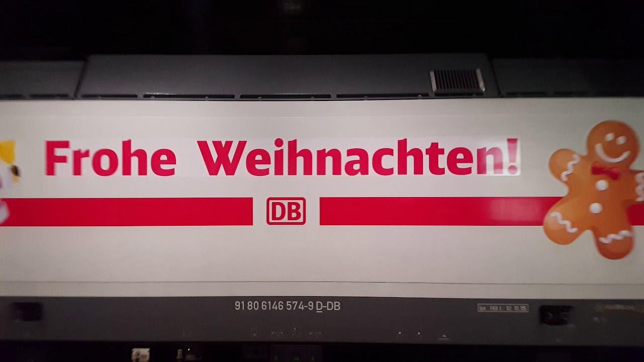 Frohe Weihnachten Berlin.100 Ic 2 Video Frohe Weihnachten Ic 2 In Berlin Hbf Ic2431 Cottbus Hbf