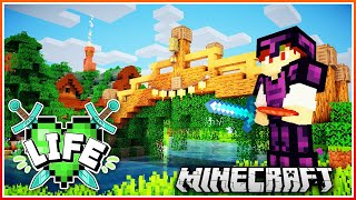 Bridge to Lizzie's & Villager Adventure!   X Life Ep.2