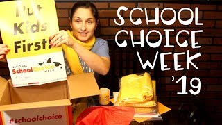 National School Choice Week Unboxing // What Rose Knows