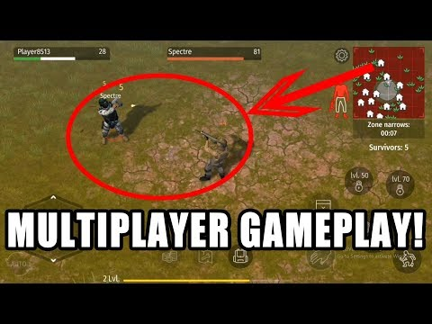 Finally Multiplayer! Jurassic Survival Gameplay Android ios | Multiplayer Gameplay Mad Dogs' Arena