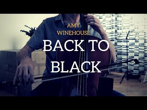 Amy Winehouse - Back to Black for cello and piano (COVER)