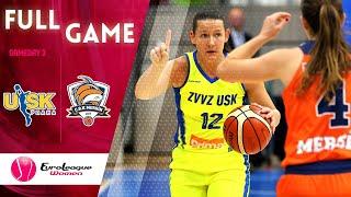 ZVVZ USK Praha v Gelecek Koleji Cukurova - Full Game - EuroLeague Women 2019-20