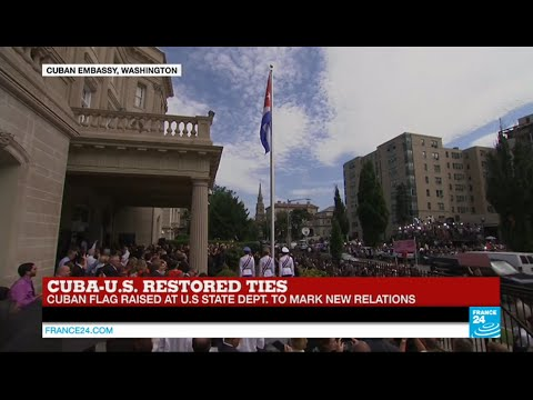 Cuba-US restored ties: watch the opening ceremony on FRANCE24