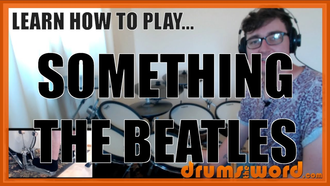★ Something (The Beatles) ★ Drum Lesson PREVIEW | How To Play Song (Ringo  Starr)