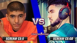 CS:GO ScreaM vs ScreaM CS:S