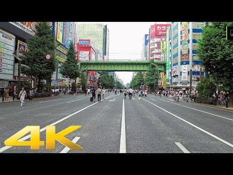 Walking through Akihabara chuo dori(pedestrian paradise), Tokyo - Long Take【東京・秋葉原中央通り/ホコ天】 4K