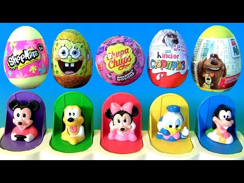 Thumbnail: Funtoys Disney Baby Mickey Mouse Clubhouse Pop-Up Pals Toys Surprise Eggs Frozen Funtoyscollector