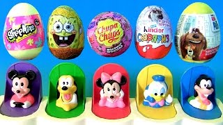 Funtoys Disney Baby Mickey Mouse Clubhouse Pop-Up Pals Toys Surprise Eggs Frozen Funtoyscollector