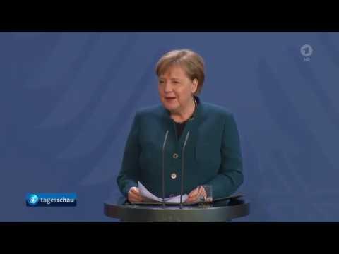 Pressekonferenz Von Angela Merkel Zu Neuen Maßnahmen Der Bundesregierung (22.03.2020)