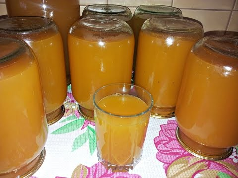 зиму из рецепты с тыквы на заготовки сок фото