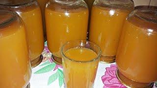 Заготовка на зиму из яблок. Домашний яблочно-морковный сок