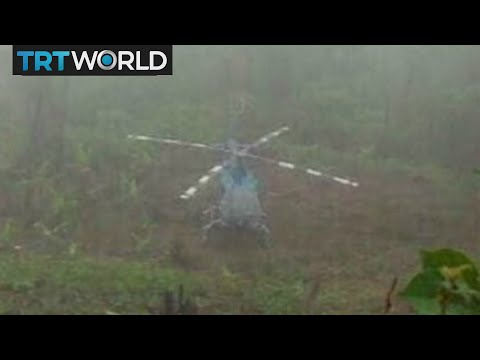 Venezuela on The Edge: Helicopter used in Supreme Court attack found