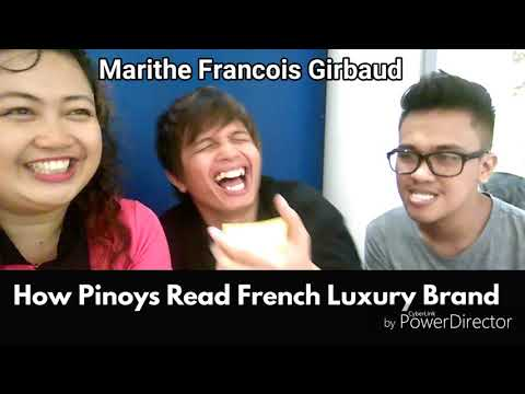 How Pinoys Read French Luxury Brands