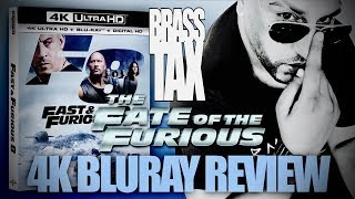Fate of the Furious 4K Bluray Review + Dolby Vision