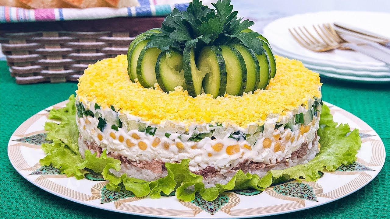 из Праздничный печени трески салат
