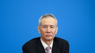 Chinese Vice Premier Liu He talks about stocks and economy