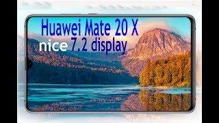 huawei mate 20 x First look with features specification price