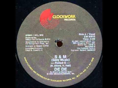 De De - S & M (Sexy Music) 1983 Complete 12'' Maxi
