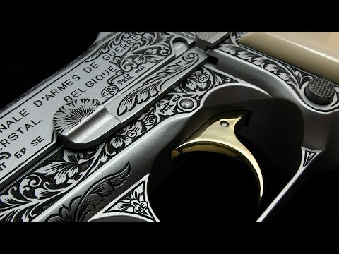 BROWNING HI-POWER M1935 MILITARY ( A Engrave Version)