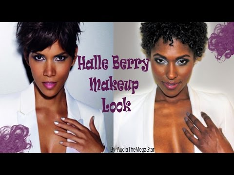 Halle Berry Inspired Makeup Tutorial: Smokey Eye, Soft Pink Lip thumbnail
