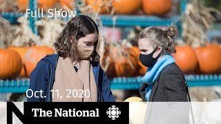 CBC News: The National | Thanksgiving tests patchwork of COVID-19 restrictions | Oct. 11, 2020