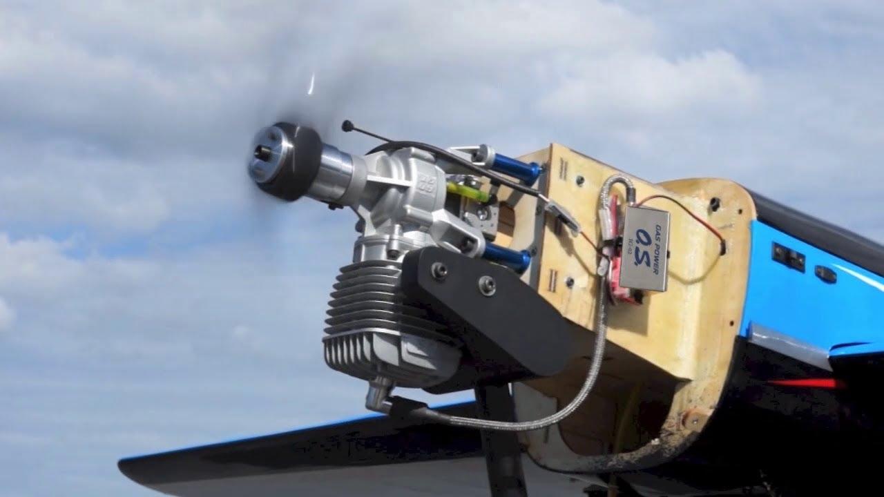 Spotlight  O S  Engine Gt60 Gasoline Engine