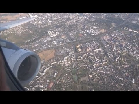 Aegean Airlines Full Flight,  Athens to Paris