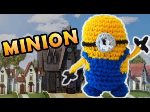 Crochet Minion Stuffed Toy Pattern Despicable Me Youtube