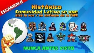 NUNCA ANTES VISTO: Comunidad Latina de Clash of Clans SE UNE alza la voz y se retiran de la CWC