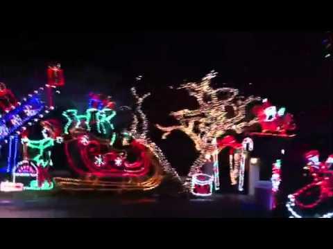 Christmas lights in Palm Beach