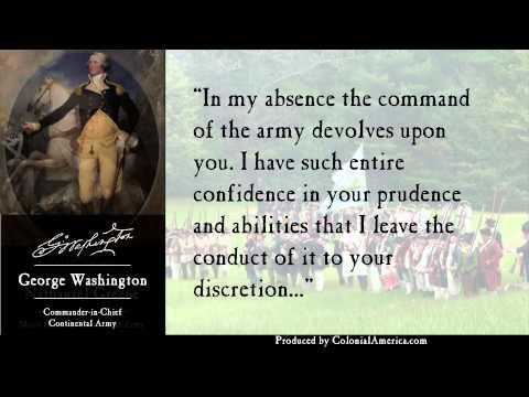 Nathanael Greene, George Washington