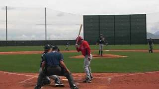 Reds-Brewers minor league backfield action