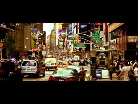 One hour of busy street sounds, traffic ambient noise, city sounds, cars, horns, rush