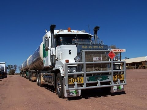 Roadtrains in the Northern Territory