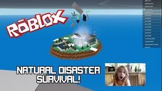 GAMING ★ Playing ROBLOX ★ Natural Disaster Survival ★ RDShowGaming