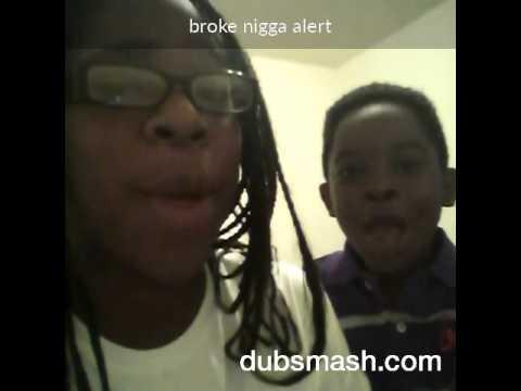 Broke nigga alert