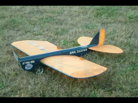 e'Moth RC Park Flyer 20090925 - YouTube