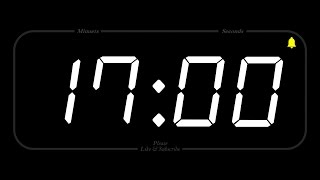 17 MINUTE - TIMER & ALARM - Full HD - COUNTDOWN
