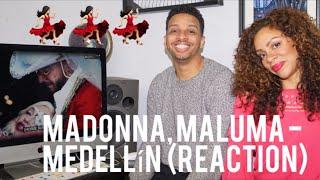Madonna, Maluma - Medellín  Reaction