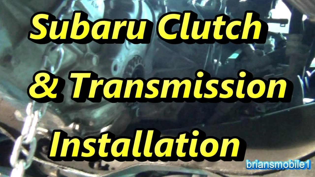 Subaru Clutch And Transmission Install Part 2 Of Youtube 360 Wiring Diagram