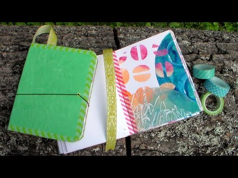 Easy DIY Beautiful Handmade Journal Tutorial