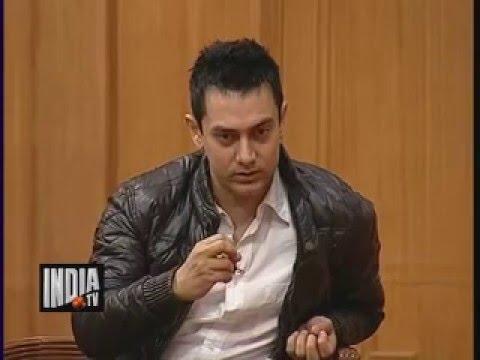 Aamir khan on '3 idiots' Movie and Chatur Ramalingam  Aap Ki Adalat
