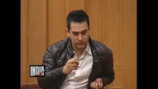 Aamir khan on '3 idiots' Movie and Chatur Ramalingam | Aap Ki Adalat