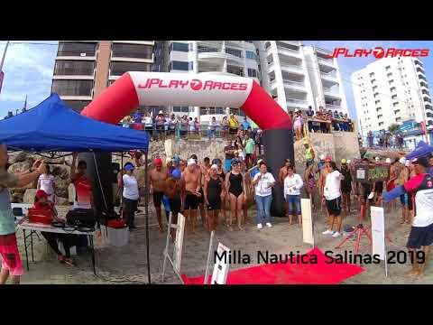 La Milla Nautica Salinas 2019 - Salidas