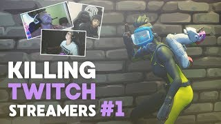 Killing Fortnite Twitch Streamers #1 (Daequan, Jaomock and more)