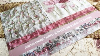 May - Fabulous French Fabric Finds from Forage by Lisa Mattock